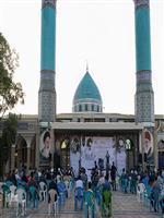 حضور مدیرکل هواشناسی مرکزی در مراسم سالگرد ارتحال حضرت امام خمینی (ره)