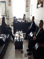 دیدار سرپرست هواشناسی استان مرکزی با ریاست سازمان مدیریت و برنامه ریزی