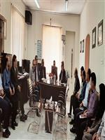 نشست هم اندیشی روسای ستادی و شهرستانی هواشناسی استان با حضور طهرانی فرماندار شهرستان خمین