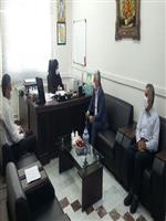 دیدار مدیرکل هواشناسی مرکزی با رئیس سازمان مدیریت و برنامه ریزی استان