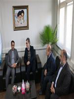 دیدار و گفتگوی مهندس بهارونداحمدی با مدیرکل راه و شهرسازی استان