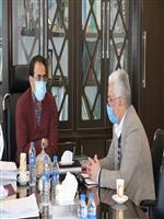 دیدار مدیرکل هواشناسی مرکزی با مدیرکل راه و شهرسازی استان