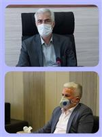 دیدار مدیرکل هواشناسی مرکزی با فرماندار شهرستان آشتیان
