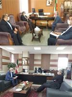 حضور مدیرکل هواشناسی استان مرکزی در کمیته برنامه ریزی شهرستان های  تفرش و آشتیان