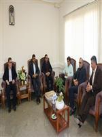 دیدار مدیرکل هواشناسی استان مرکزی با معاون سیاسی و امنیتی استانداری