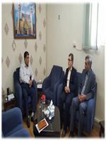 دیدار مدیرکل هواشناسی با نماینده مردم اراک، کمیجان و خنداب در مجلس شورای اسلامی