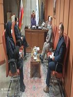 دیدار مدیرکل هواشناسی استان مرکزی با استاندار