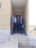 بازدید فرماندار فراهان از پروژه ساختمان هواشناسی این شهرستان