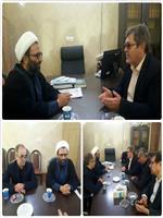 دیدار مدیرکل هواشناسی با رئیس مجمع نمایندگان استان مرکزی