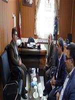 دیدار سرپرست هواشناسی استان مرکزی با فرماندار اراک